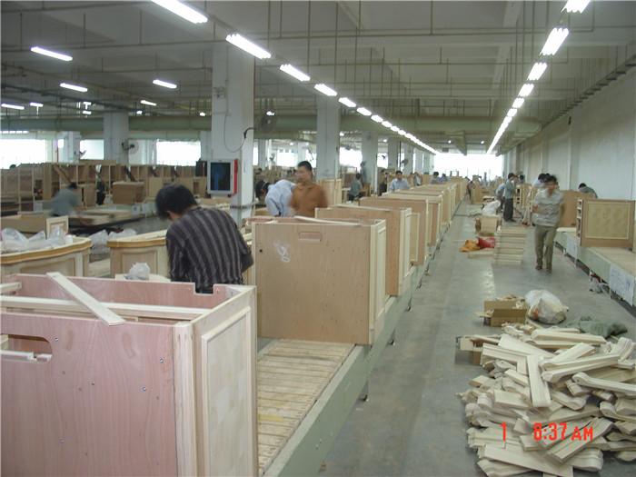 隔板生产线