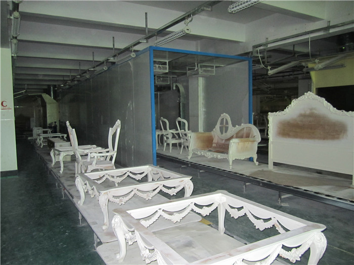 油漆地线烤房